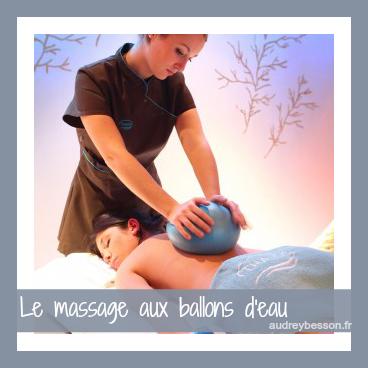 massage aux ballons deau
