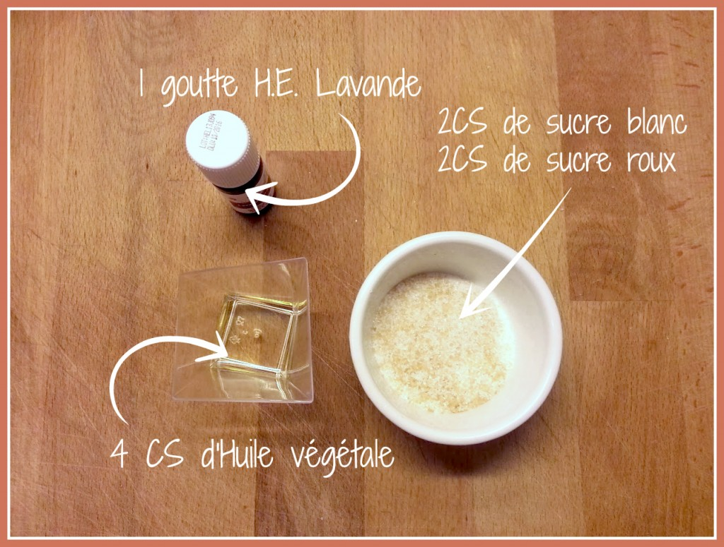 recette gommage sucre