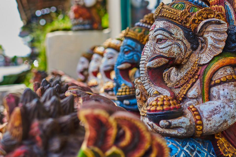 Marché Ubud Voyage Indonésie