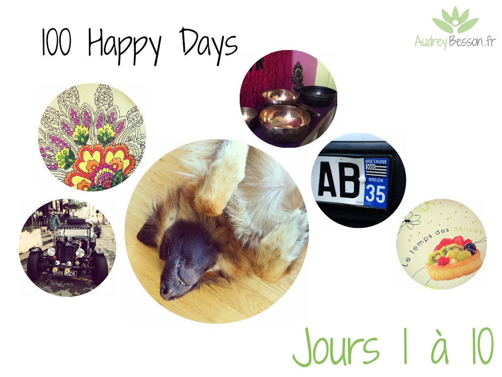 100 Happys Days - Audrey Besson Rennes - 1