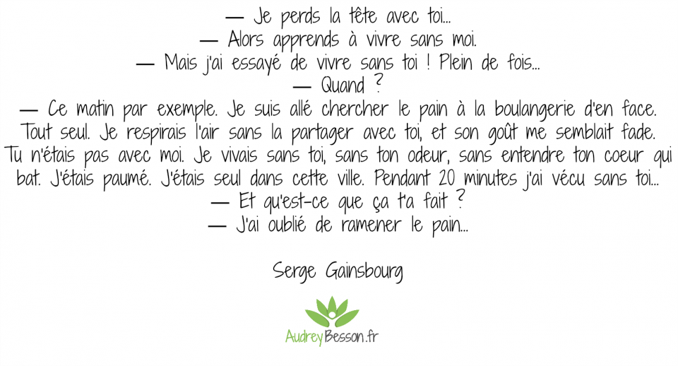citation serge gainsbourg