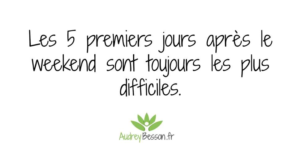Citations Proverbes Weekend Semaine Travail