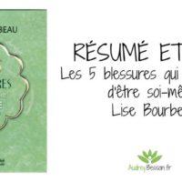 résumé avis critique citations les 5 blessures qui empêchent d'être soi-même Lise Bourbeau