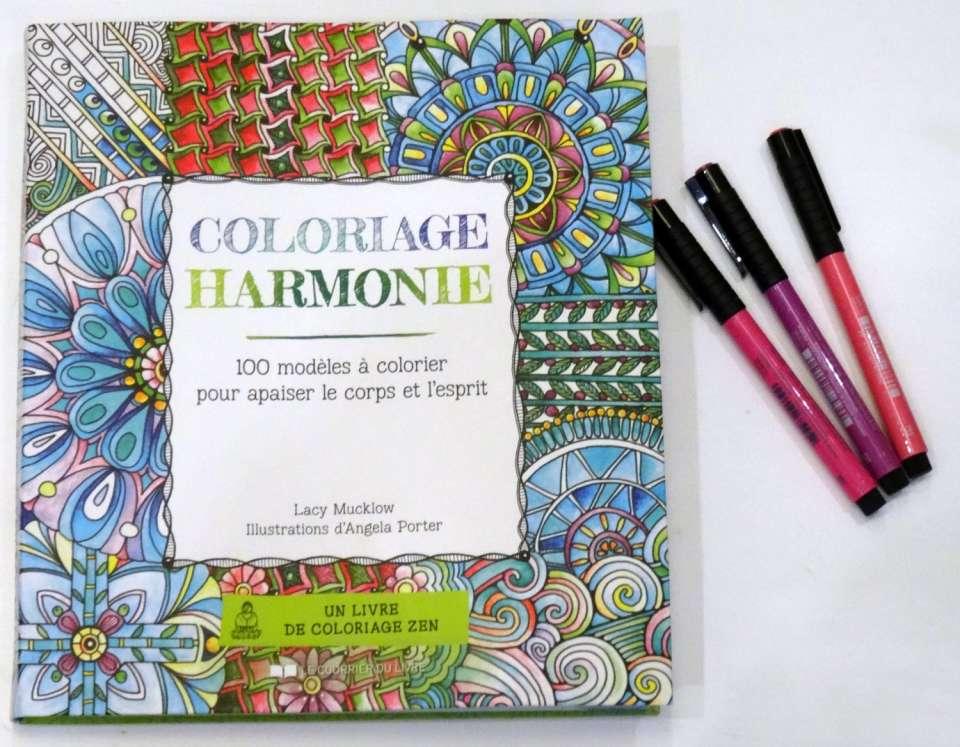 Coloriage harmonie 100 modèles à colorier pour apaiser le corps et l'esprit