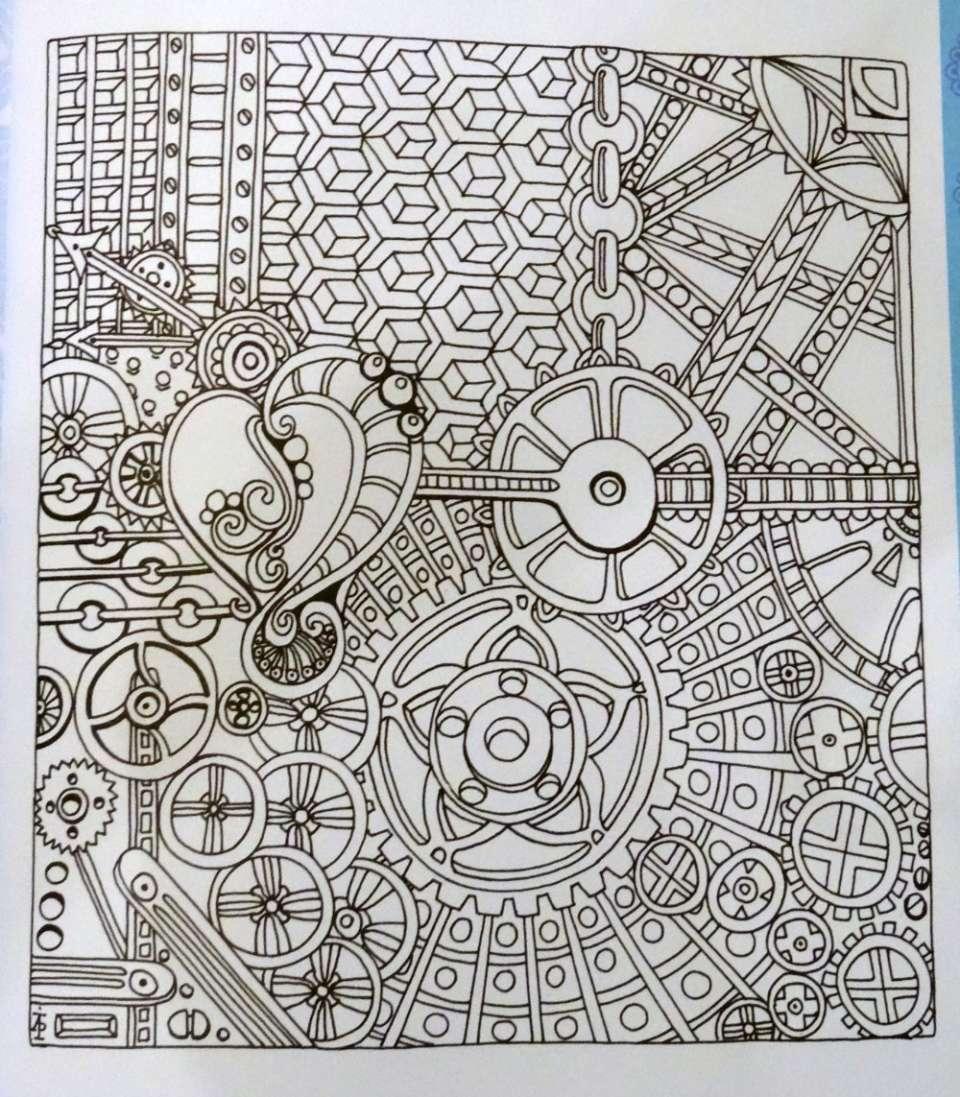 Coloriage Zen Partie 2