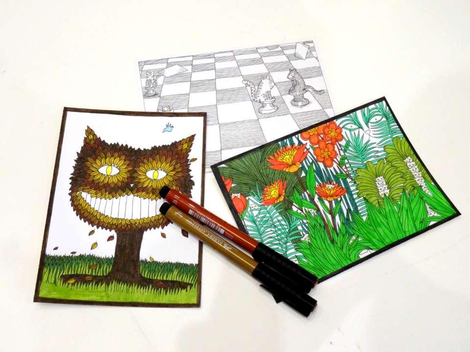 livre à colorier à chacun son chat marabout avis retour