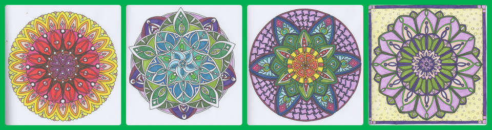 Mandala, coloriage, zen, betton, bretagne, bzh, coloriage harmonie