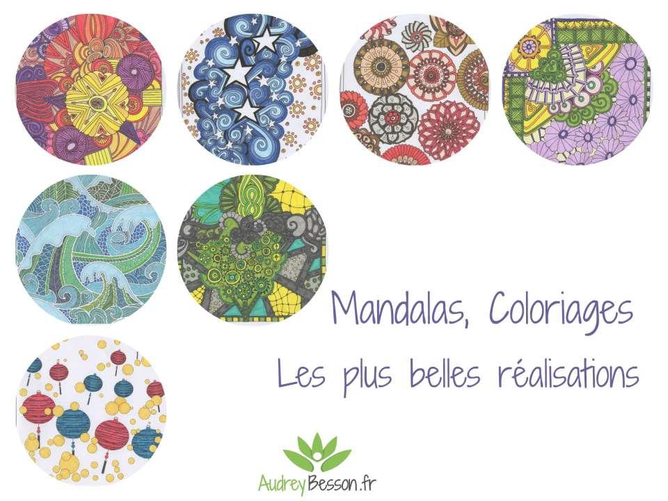 Coloriage Mandala Nature Et Decouverte.Mandalas Coloriages Les Plus Belles Realisations