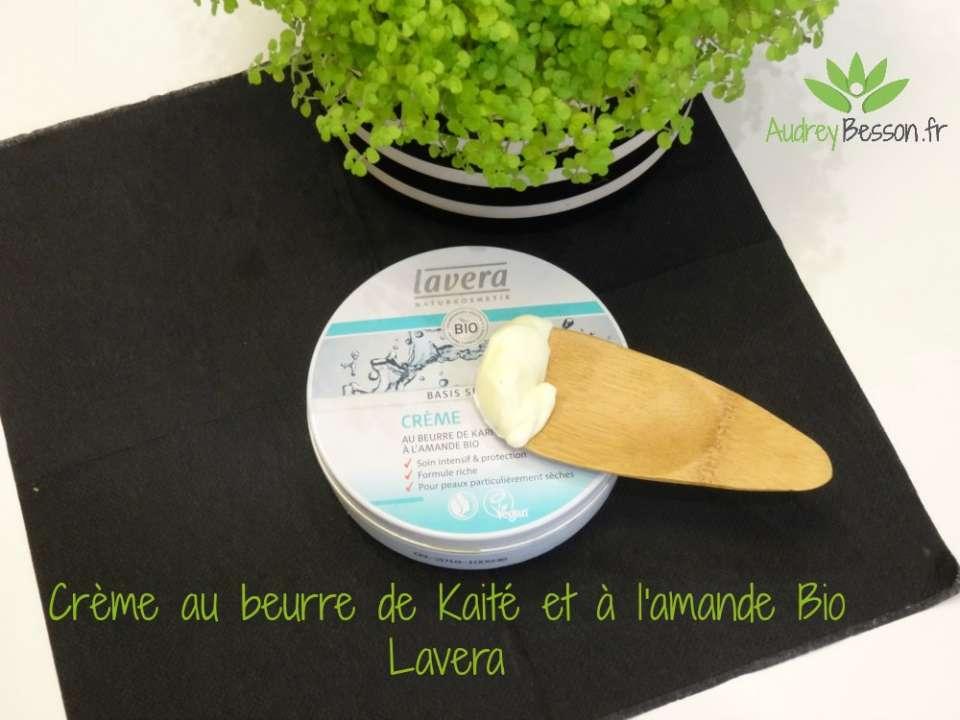 Crème au beurre de Kaité et à l'amande Bio Lavera