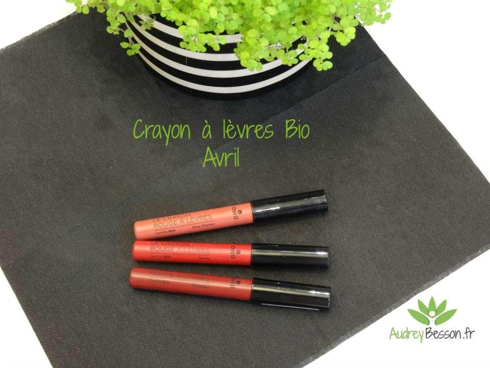crayon à lèvres bio avril test avis