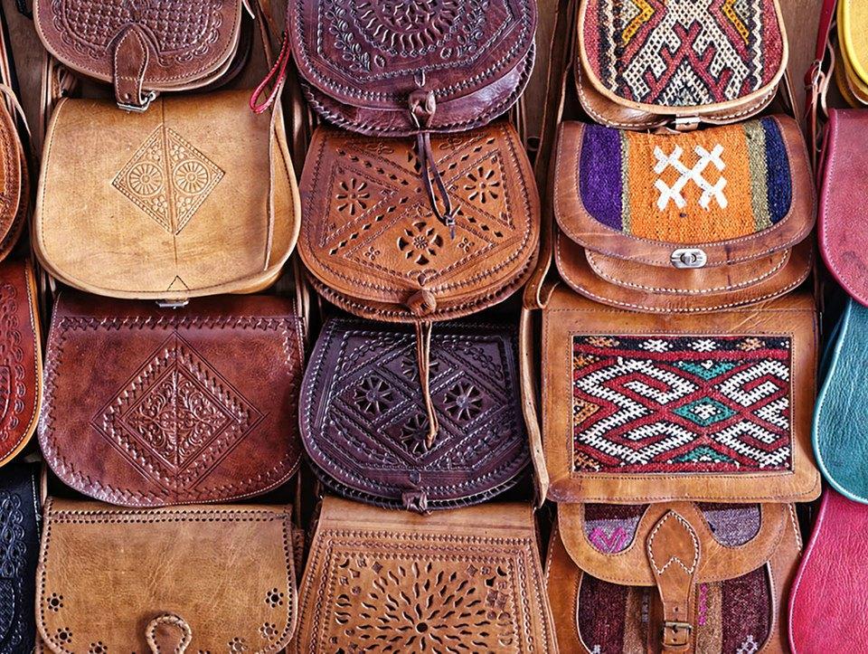 souk sac essaouira maroc