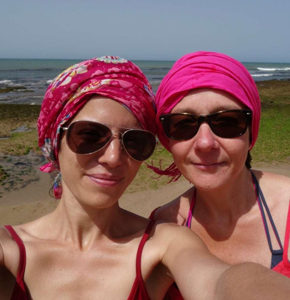 audrey besson gaelle roussel massage stage découverte intérieur de soi maroc massage