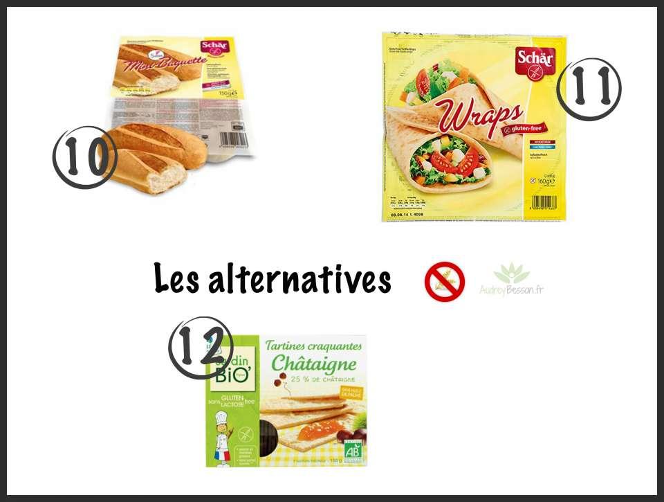 alternative au pain sans gluten glutenfree