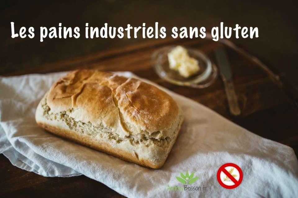 les pains industriels sans gluten