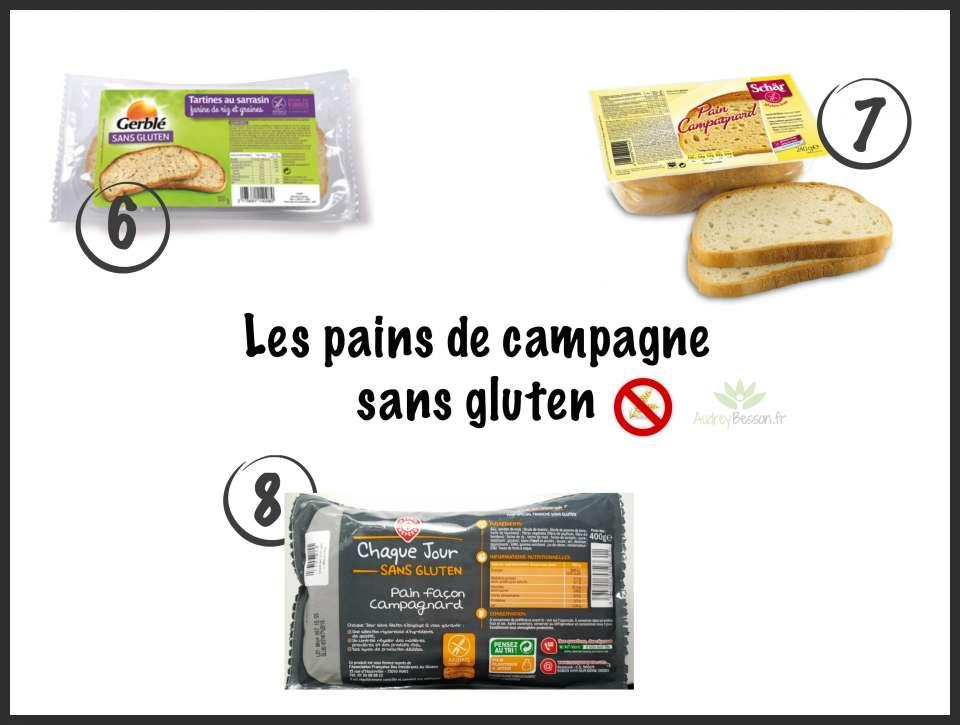 pain de campagne sans gluten glutenfree intermarché