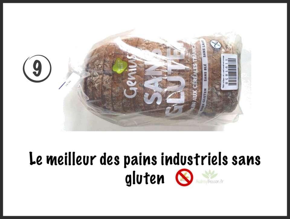 pain genius sans gluten meilleur pain industriel glutenfree