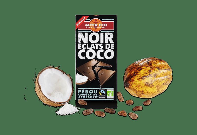 alter eco chocolat noir coco