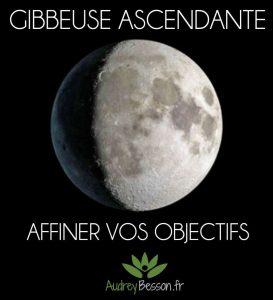 lune gibbeuse ascendante définir vos objectifs signification magie énergétique astrologie