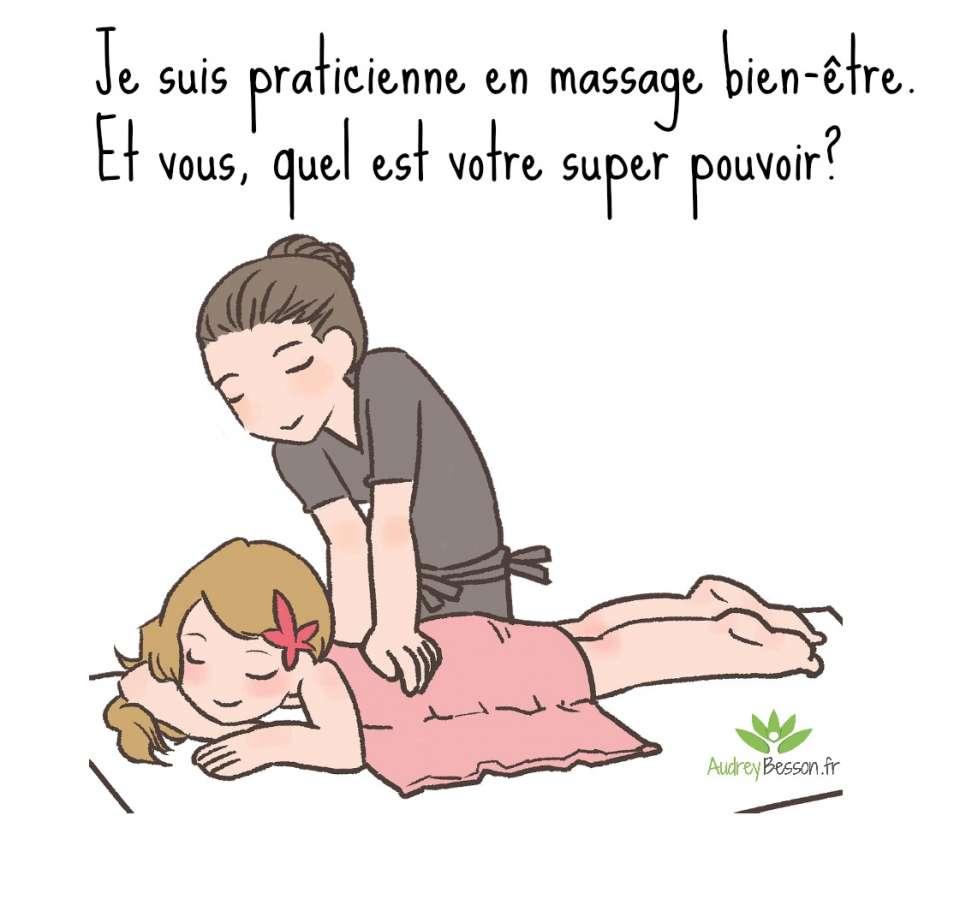 praticienne en massage bien-être