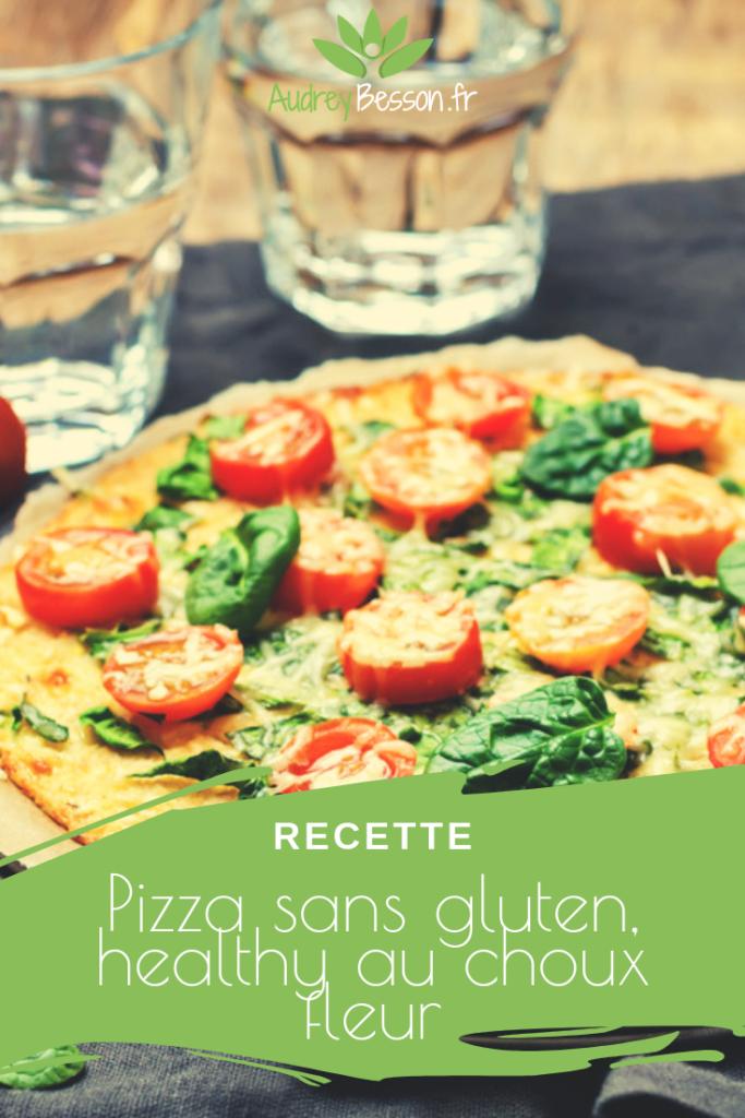 Recette Pizza Sans Gluten Healthy Au Choux Fleur