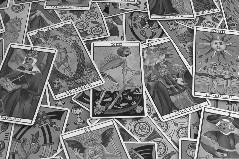 Carte Mort Tarot
