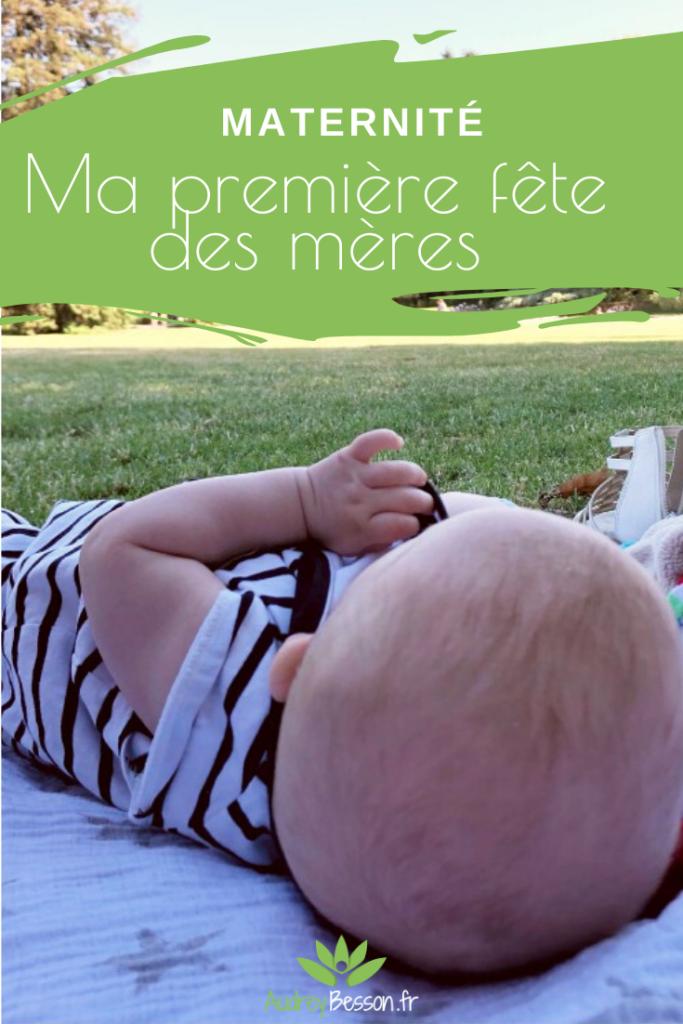 Ma Premiere Fete Des Meres Bebe Jardin Printemps Mère