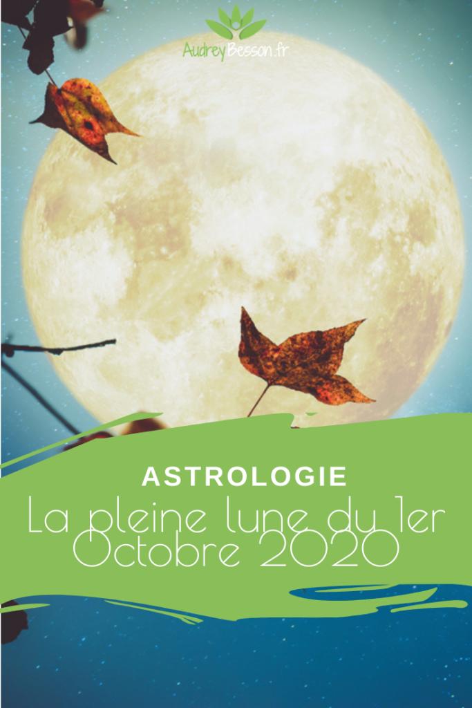La Pleine Lune Du 1er Octobre 2020