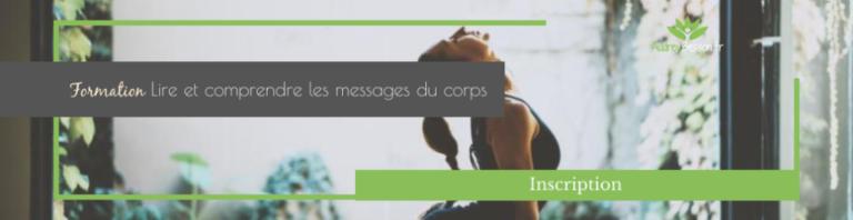 Bannière Inscription À La Formation En Ligne Lire Et Comprendre Les Messages Du Corps Audrey Besson