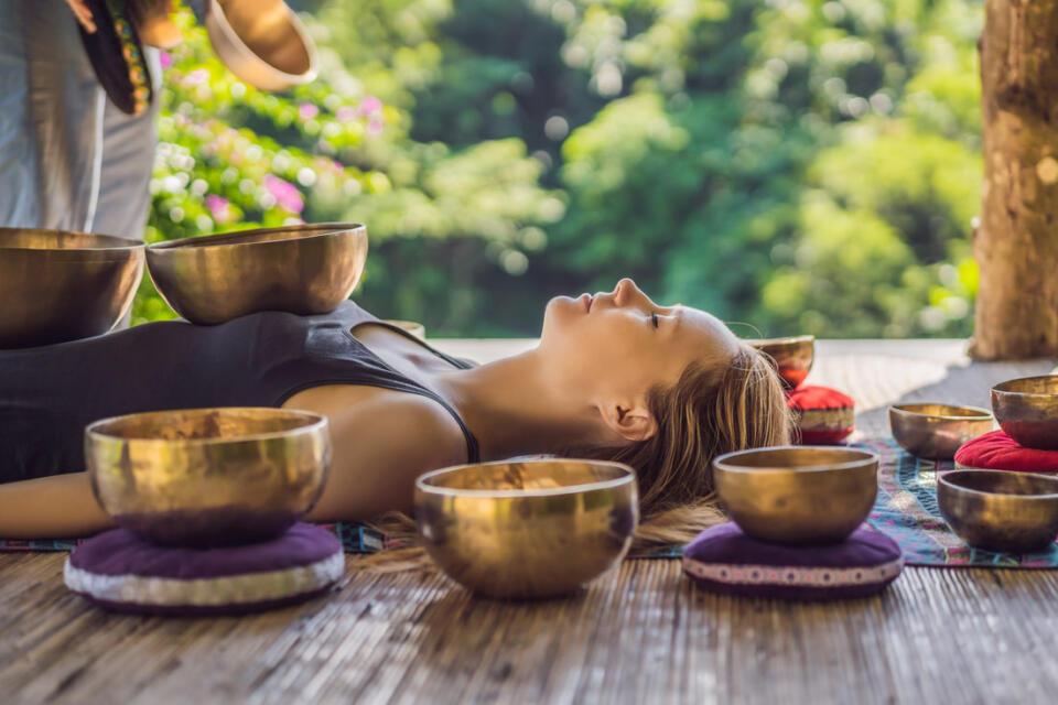 Massage Sonore Aux Bols Tibétains Sing Bowls Guide Debutant