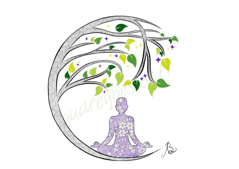 Méditation À La Terre Dessin Mandala