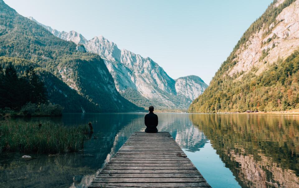 Trouvez Un Endroit Calme Et Solitaire